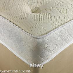 1000 Pocket Memory Divan Bed-mattress/headboard+colour Options-3ft/4ft6/5ft/6ft