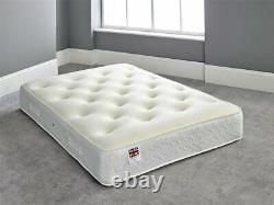 1000 Pocket Sprung With Cool Blue Memory Foam Mattress Sale All Sizes Available