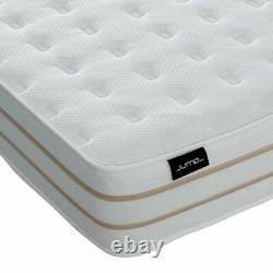 10 2000 Pocket Sprung Deep Memory Foam Mattress Single Double Kingsize Matress