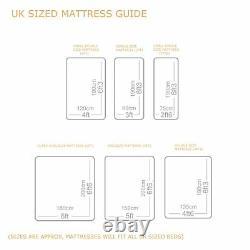 10 2000 Pocket Sprung Memory Foam Deep Mattress Single Double Kingsize Matress