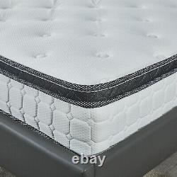 10 Deep 3000 Memory Foam Pocket Sprung Mattress, 3ft 4ft 4ft6 Double 5ft King