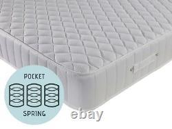 10 Inch luxury diamond 3000 pocket sprung mattress memory foam spring -all sizes