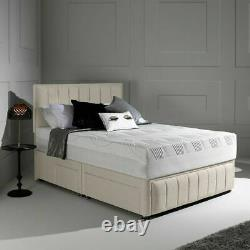 10 Thick 3000 Memory Foam Pocket Sprung Mattress, 3ft 4ft6 Double 5ft King Size