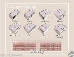 10 Thick Memory Foam Pocket Sprung Mattress President