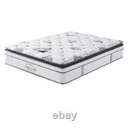 2ft6/3ft/4ft/4ft6/5ft Deep Quilt Orthopaedic Memory Foam Pocket Sprung Mattress