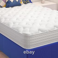 3000 Comfort Pocket Sprung Memory Foam Mattress Quilted Design