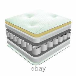 3000 Pocket Sprung Mattress Memory Foam Topped 3FT 4FT6 5FT 6FT