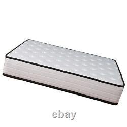 4000 Pocket Sprung Memory Mattress Luxury Damask Hypo 3ft 4ft 4ft6 5ft/