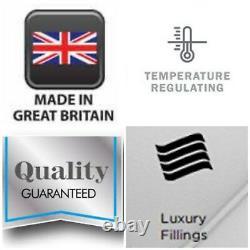 4FT6 Double 2000 Pocket Spring Memory Foam Tencel Luxury Mattress New Sale 50%