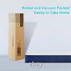 BedStory 22cm Double Pocket Sprung Memory Foam Mattress Medium Firm OEKO-TEX 100