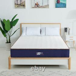BedStory 23CM Memory Foam Pocket Sprung Hybrid Mattress Medium Firm Single Bed