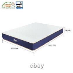 BedStory 9in Double Mattress Pocket Sprung Memory Foam Hybrid 4ft6 Mattress