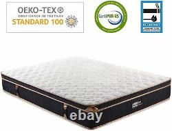 Bedstory Single 3ft Memory Foam Matress Hybrid Pocket Sprung Orthopaedic 28CM