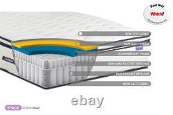 Birlea Space SleepSoul Luxurious 2000 Pocket Sprung Mattress 4ft, 4ft6 & 5ft
