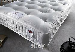 Brand New Ultimate 1000 Pocket Sprung Mattress 3ft 4ft 4ft 6 Double 5ft 6ft