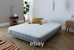 Breasley UNO 1000 Pocket Sprung Memory Foam Mattress Various Sizes