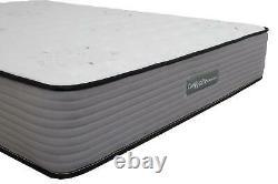 Comfynite Memory Foam Mattress Double 4ft 6 Pocket Sprung Quilted 27cm Deep