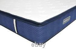 Comfynite Memory Foam Mattress King Size 5ft Pocket Sprung Quilted 30cm Deep
