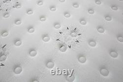 Comfynite Memory Foam Mattress Single 3ft Pocket Sprung Quilted 27cm Deep