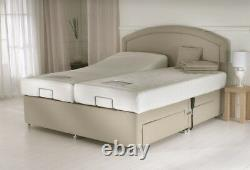 Cyberbeds All Sizes Adjustable Bed choice Memory Or Pocket Sprung Mattresess