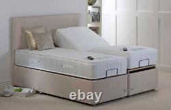 Cyberbeds Harper 5Ft King Size Adjustable Bed Pocket Sprung Latex Mattresses