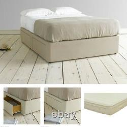 Divan Base With Memory Foam Or Latex Pocket Sprung Mattress In All Sizes