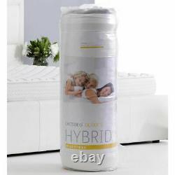 Dormeo Hybrid Mattress BED home Memory Foam DOUBLE 4FT6 Pocket Medium/Firm
