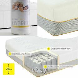 Dormeo Options Hybrid Mattress Memory Foam and Pocket springs Medium/Firm. NEW