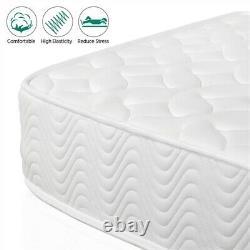 Double Bed Mattress Medium Firm 4 ft 6 Pocket Sprung Memory Foam Mattress