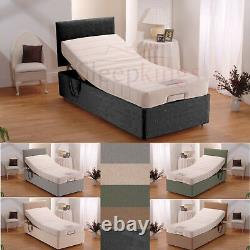 Electric Adjustable Bed Mobility Bed 5 Part Adjustable All Sizes Mattresses