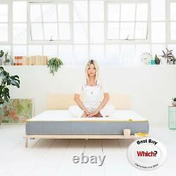 Eve Sleep Hybrid 650 Pocket Springs Anti Allergy Medium Firm Single Mattress