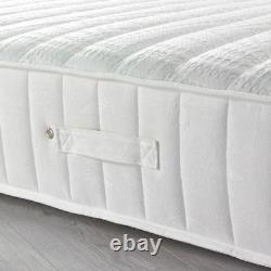 Happy Beds Balmoral 3500 Pocket Sprung Memory Foam Mattress Quilted Top Fabric