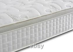 High Quality 3000 Pocket Sprung Pillow Top Cashmere 3FT 4FT 5FT 6FT Mattress