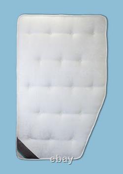 Hobby VIP Premium Mattress Pocket Sprung, Memory Foam Offside Fixed Bed