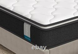 Inofia 3D Breathable Hybrid Memory Foam Pocket Sprung Mattress, Double 4FT 6