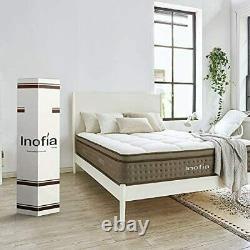 Inofia Sleep Handcrafted Small Double Mattress 12 Cloud Memory Foam Pocket Spru