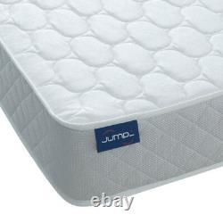 Jumpi 9 Orthopaedic Cool Blue Foam Spring Mattress Firm Fabric Cheap