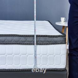 Luxury Memory Foam Mattress 4000 Pocket Sprungs 3ft Single 4ft 4ft6 Double 5ft