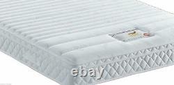 Luxury Pocket Spring Memory Foam Mattress 10 3ft Single 4ft6 Double 5ft