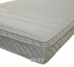 MEMORY FOAM MATTRESS WITH Firm POCKET SPRINGS 3FT 4FT 4FT6 5FT 6FT