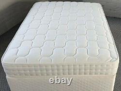 Memory Foam 1000 Pocket Ortho Dual Season 23cm Mattress 4ft6 Double 5ft King