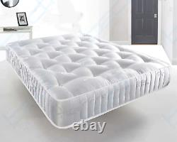 Memory Foam 3000 Pocket Luxury Mattress 3ft Single 4ft6 Double 5ft 6ft Mattress