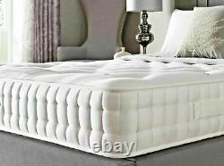 Memory Foam Pocket 3000 Sprung Mattress, 3ft 4ft 4ft6 Double 5ft King Size