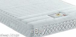 Memory Foam Pocket Spring Mattress Available In 3ft 4ft6 & 5ft Foam Encapsulated