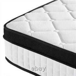Memory Foam Pocket Sprung Mattress Single 3ft Double 4ft6 Luxury Bed Mattress