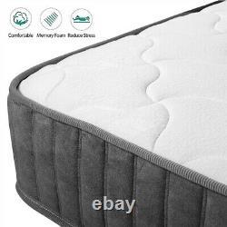Memory foam Mattress Luxury Pocket Sprung Mattress 9-zone 3FT Single 4FT6 Double