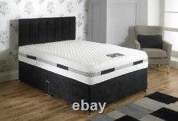 Natural Latex Memory Foam Mattress 1000 Pocket Spring King Size 5FT Luxury SALE
