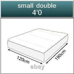 New 1500 Pocket Sprung Memory Foam Mattress 4ft Small Double