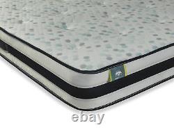 New Special Offer Zeus Cool Blue 2000 Pocket Memory Foam Mattress All Sizes