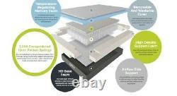 OTTY Hybrid Memory Foam Double mattress 2000 Pocket Sprung